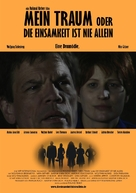 Mein Traum oder Die Einsamkeit ist nie allein - German Movie Poster (xs thumbnail)
