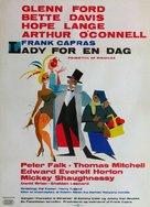 Pocketful of Miracles - Danish Movie Poster (xs thumbnail)
