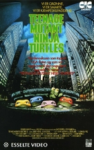 Teenage Mutant Ninja Turtles - Norwegian VHS movie cover (xs thumbnail)