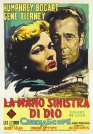 The Left Hand of God - Italian Theatrical movie poster (xs thumbnail)
