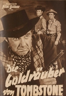 Bad Men of Tombstone - German poster (xs thumbnail)