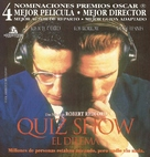 Quiz Show - Argentinian DVD cover (xs thumbnail)