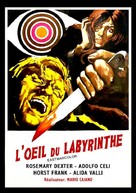L'occhio nel labirinto - French Movie Poster (xs thumbnail)