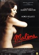 Malèna - Italian Movie Poster (xs thumbnail)