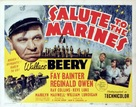 Salute to the Marines - Theatrical poster (xs thumbnail)