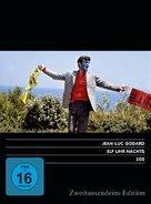 Pierrot le fou - German DVD cover (xs thumbnail)