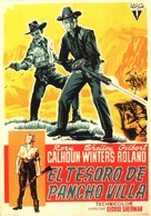 The Treasure of Pancho Villa - Spanish Movie Poster (xs thumbnail)