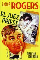 Judge Priest - Spanish Movie Poster (xs thumbnail)