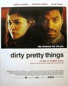 Dirty Pretty Things - Swedish Movie Poster (xs thumbnail)