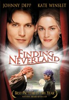 Finding Neverland - DVD movie cover (xs thumbnail)