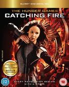 The Hunger Games: Catching Fire - British Blu-Ray movie cover (xs thumbnail)