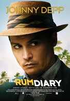 The Rum Diary - Canadian Theatrical movie poster (xs thumbnail)