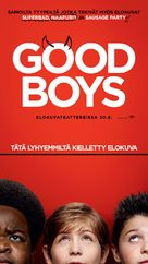 Good Boys - Finnish Movie Poster (xs thumbnail)