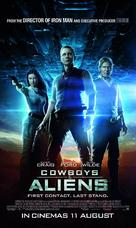 Cowboys & Aliens - Malaysian Movie Poster (xs thumbnail)
