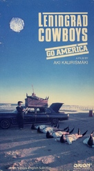 Leningrad Cowboys Go America - VHS movie cover (xs thumbnail)