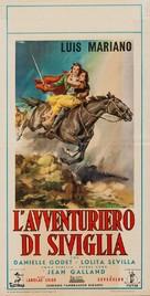Aventuras del barbero de Sevilla - Italian Movie Poster (xs thumbnail)