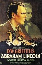 Abraham Lincoln - Movie Poster (xs thumbnail)