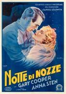 The Wedding Night - Italian Movie Poster (xs thumbnail)