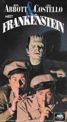 Bud Abbott Lou Costello Meet Frankenstein - VHS movie cover (xs thumbnail)