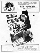 The Lady Vanishes - Australian poster (xs thumbnail)