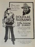 The Mark of Zorro - Movie Poster (xs thumbnail)