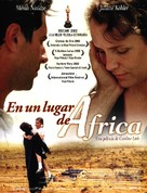 Nirgendwo in Afrika - Spanish Movie Poster (xs thumbnail)