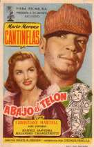 Abajo el telón - Spanish Movie Poster (xs thumbnail)