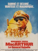 MacArthur - French Movie Poster (xs thumbnail)