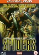 Spiders - British Movie Cover (xs thumbnail)