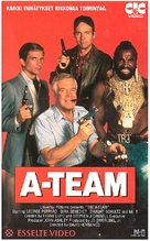 """The A-Team"" - Finnish VHS movie cover (xs thumbnail)"