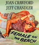 Female on the Beach - Blu-Ray cover (xs thumbnail)