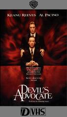 The Devil's Advocate - VHS movie cover (xs thumbnail)