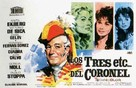 Trois etc. du colonel, Les - Spanish Movie Poster (xs thumbnail)