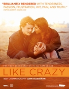 Like Crazy - For your consideration movie poster (xs thumbnail)