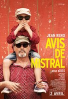 Avis de mistral - French Movie Poster (xs thumbnail)