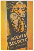 Secret Agent - Spanish Movie Poster (xs thumbnail)