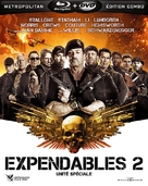 The Expendables 2 - French Blu-Ray movie cover (xs thumbnail)