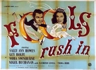 Fools Rush In - British Movie Poster (xs thumbnail)
