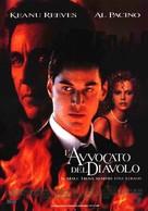The Devil's Advocate - Italian Movie Poster (xs thumbnail)