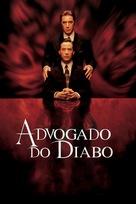 The Devil's Advocate - Brazilian DVD movie cover (xs thumbnail)