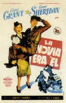 I Was a Male War Bride - Spanish Movie Poster (xs thumbnail)