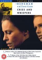 Viskningar och rop - British DVD cover (xs thumbnail)