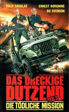 Dirty Dozen: The Deadly Mission - German VHS cover (xs thumbnail)