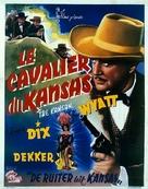 The Kansan - Belgian Movie Poster (xs thumbnail)