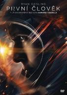 First Man - Czech DVD movie cover (xs thumbnail)