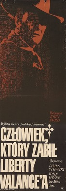 The Man Who Shot Liberty Valance - Polish Movie Poster (xs thumbnail)