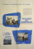 La grande strada azzurra - Romanian Movie Poster (xs thumbnail)