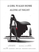 A Girl Walks Home Alone at Night - Movie Poster (xs thumbnail)