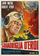 Flying Leathernecks - Italian Movie Poster (xs thumbnail)