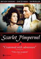 The Scarlet Pimpernel - DVD cover (xs thumbnail)